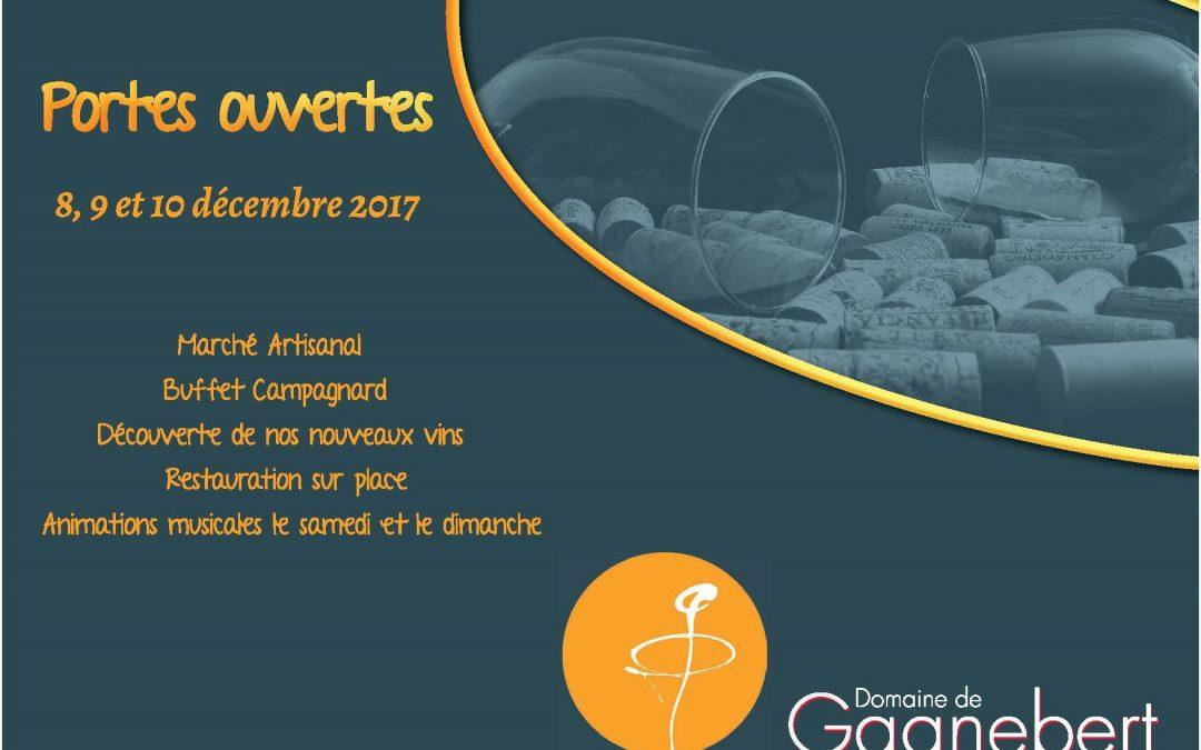 Portes ouvertes 8, 9 et 10 décembre 2017